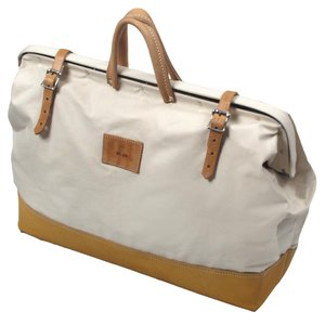 20 In Deluxe Leather Bottom Canvas Bag Canvas Tool Bag Bags Leather