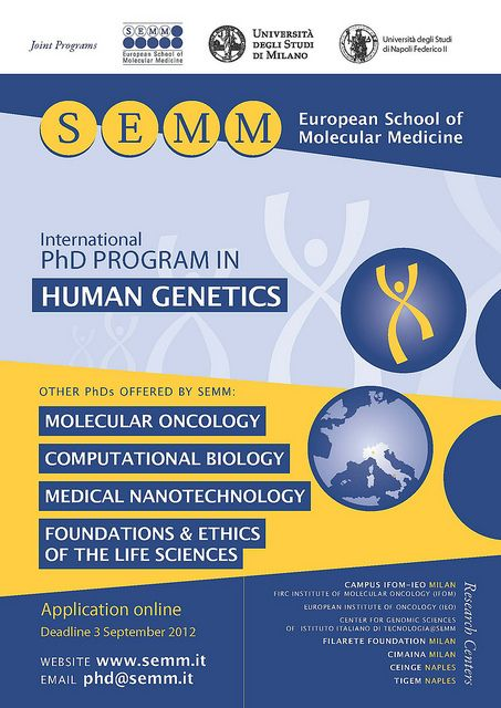 PhD program in Human Genetics | Computational biology ...