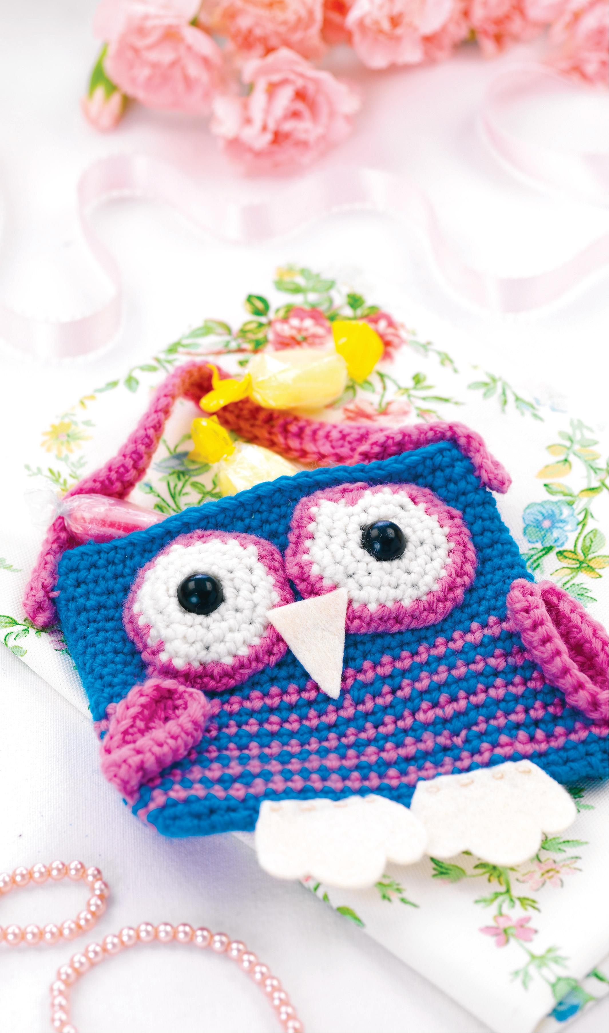 Simple crochet owl bag crochet pattern ruth mills pinterest simple crochet owl bag crochet pattern bankloansurffo Image collections