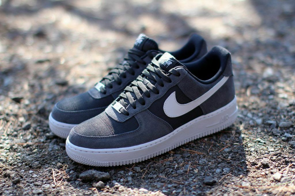 "new concept 25a9c e7110 Nike Air Force 1 Low ""Anthracite, Black   Wolf Grey"""