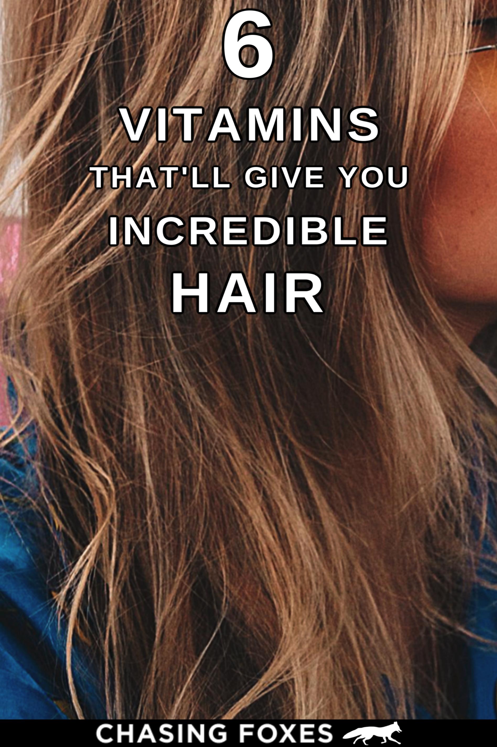 6 Best Vitamins For Incredible Hair Help Dry Hair Hair Hacks Dry Frizzy Hair