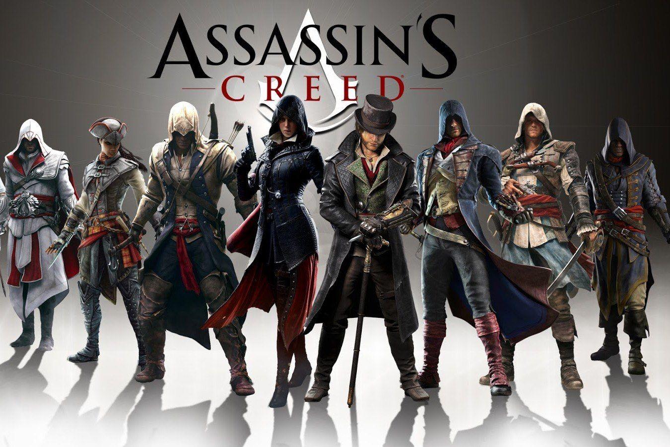 фото всех персонажей из игры ассасин они