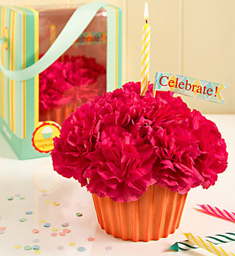 Pink Carnation Cupcake Cupcakes Pinterest Pink carnations and