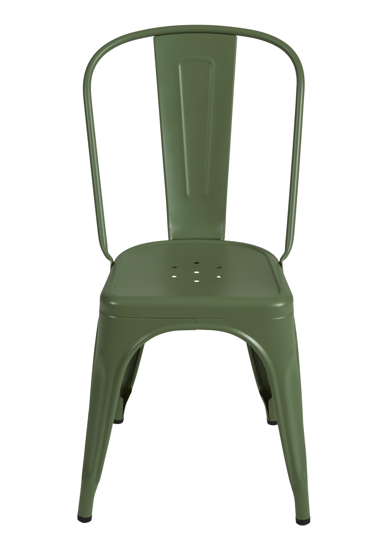 chaise a verte tolix camif fr chaise peinture epoxy mobilier de salon