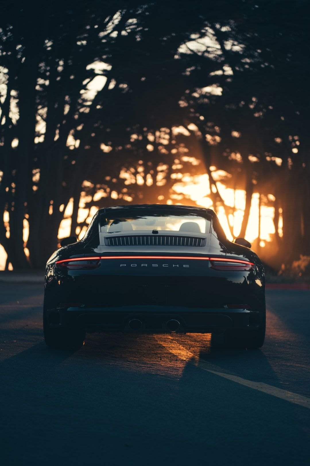 Download This Free Hd Photo Of Sunset Car Black And Carrera By