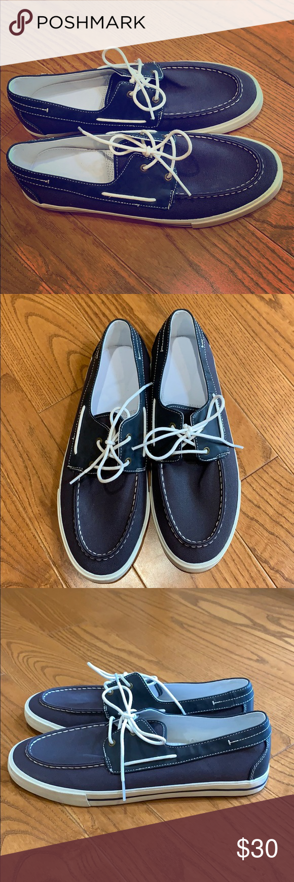 👞 Men's GAP Shoes 👞 BRAND NEW These Men's boat shoes are perfect for summer time on the boat or for a picnic. These were never worn and is in great condition as shown by the photos. Can be worn with or without socks.  #Father'sDay #Anniversary #Boyfriend #Fiance #Valentine'sDay #Gift #Husband #Brother #Dad #Son #Eid #Ramadan #Sale #Run #Comfortable #Style #LowPrice #NewWardrobe #Vacation #WalkingShoes #RunningShoes #WeddingShoes #PartyShoes #ShoesWithLaces #Guys #Boys GAP Shoes Loafers & Slip-