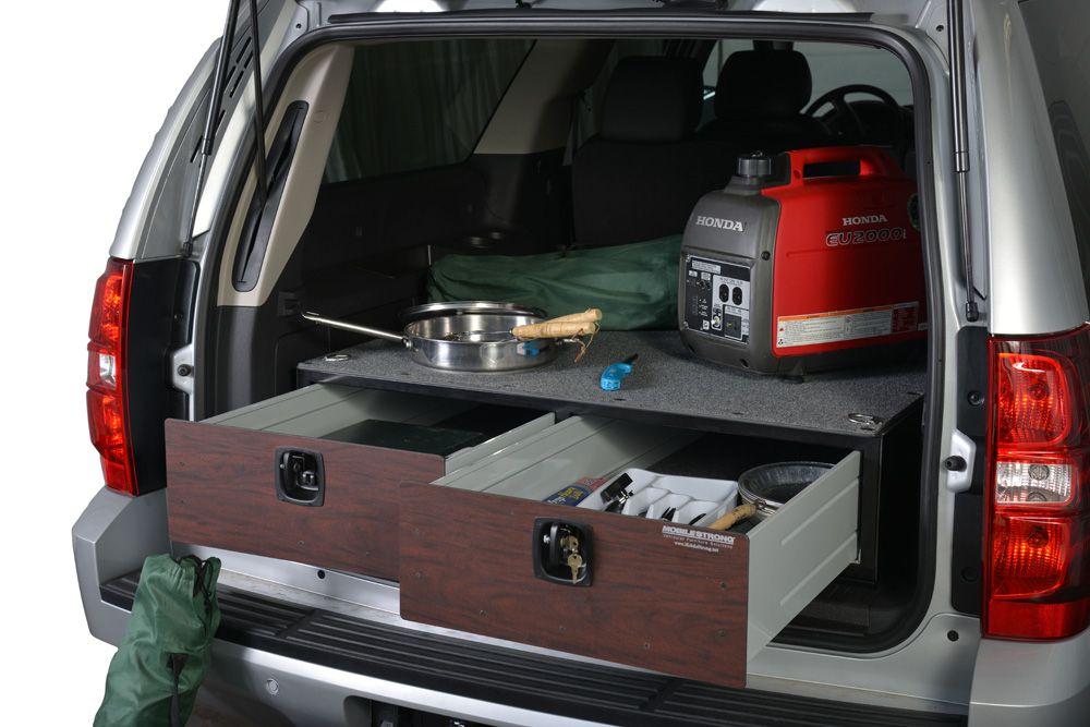 SUV Storage Drawer Systems | Organizing | Luxury camping