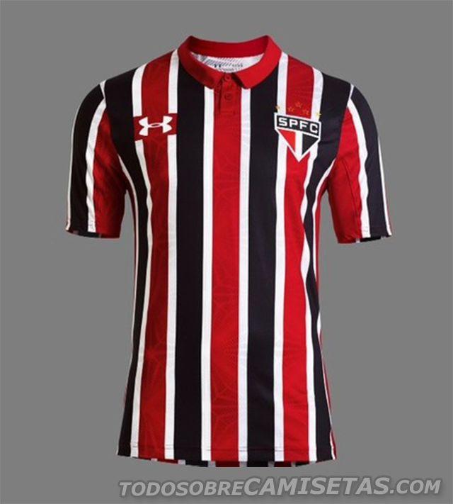 0093edece86 Camisa 2 Under Armour do Sao Paulo 2016
