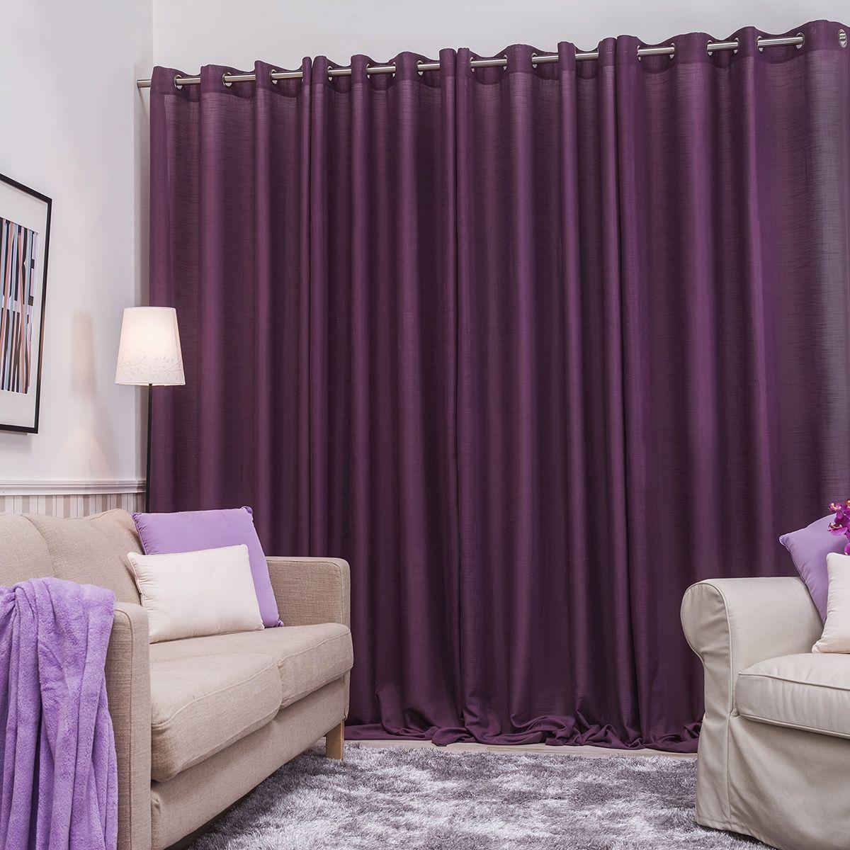resultado de imagen para cortinas moradas - Cortinas Moradas