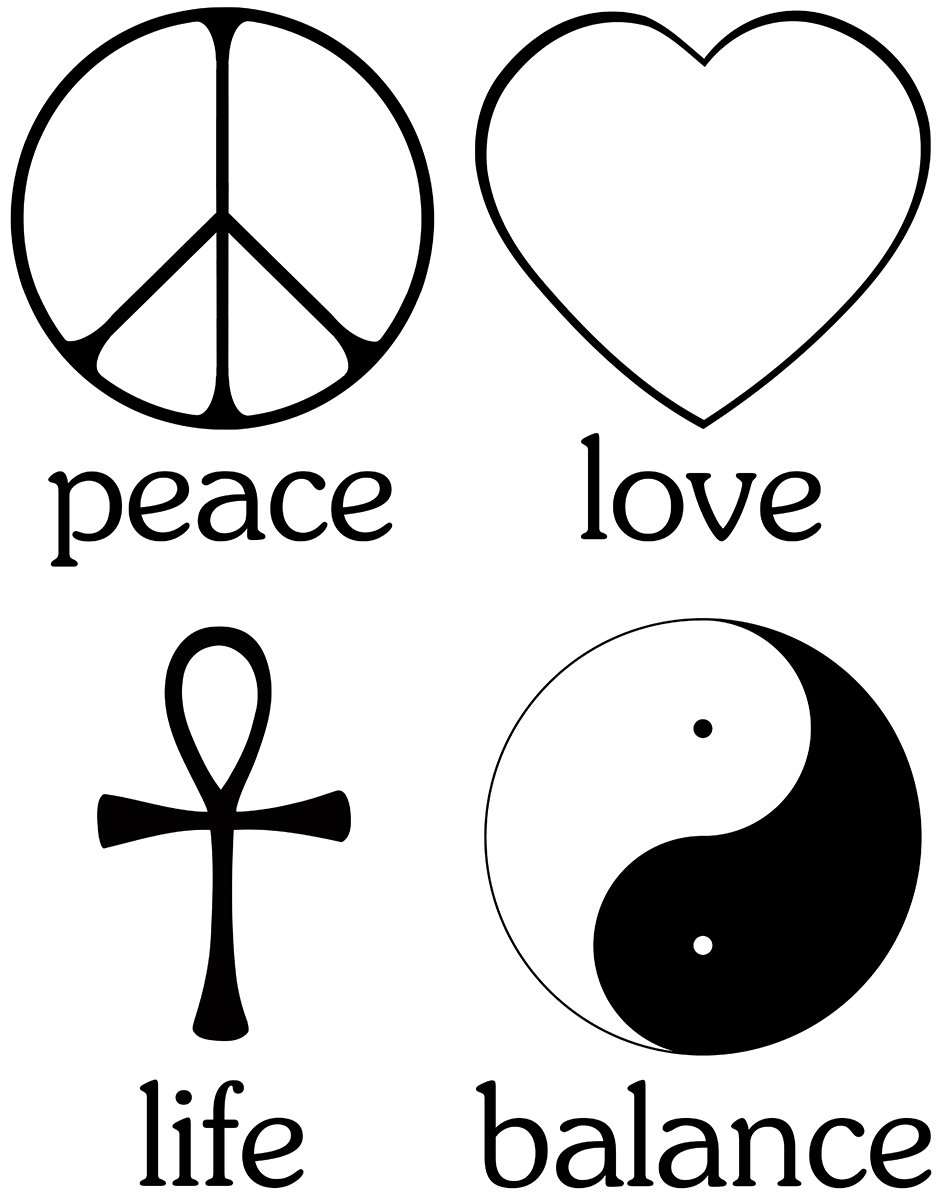 The primary values for living a spiritual existence peace peace the primary values for living a spiritual existence peace peace sign love biocorpaavc Image collections