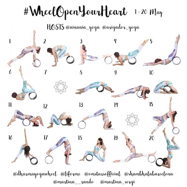 Calendario #WheelOpenYourHeart