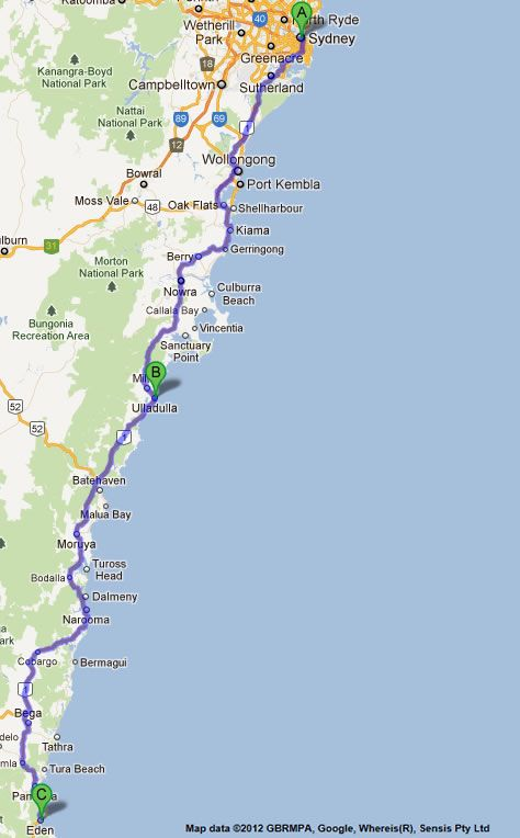 Sydney to Melbourne road map 1 | Australia in 2019 ... on central coast map, cape breton map, baghdad map, berlin map, hobart map, sidney ohio map, singapore map, hong kong map, tokyo map, paris map, vientiane map, great sandy desert map, brisbane map, seattle map, queensland map, los angeles map, australia map, new zealand map, melbourne map, calcutta map,