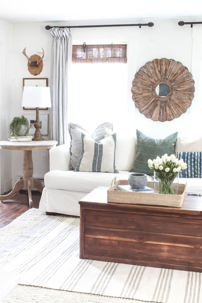 Room For Rent Design: Bright Living Room, Home Decor