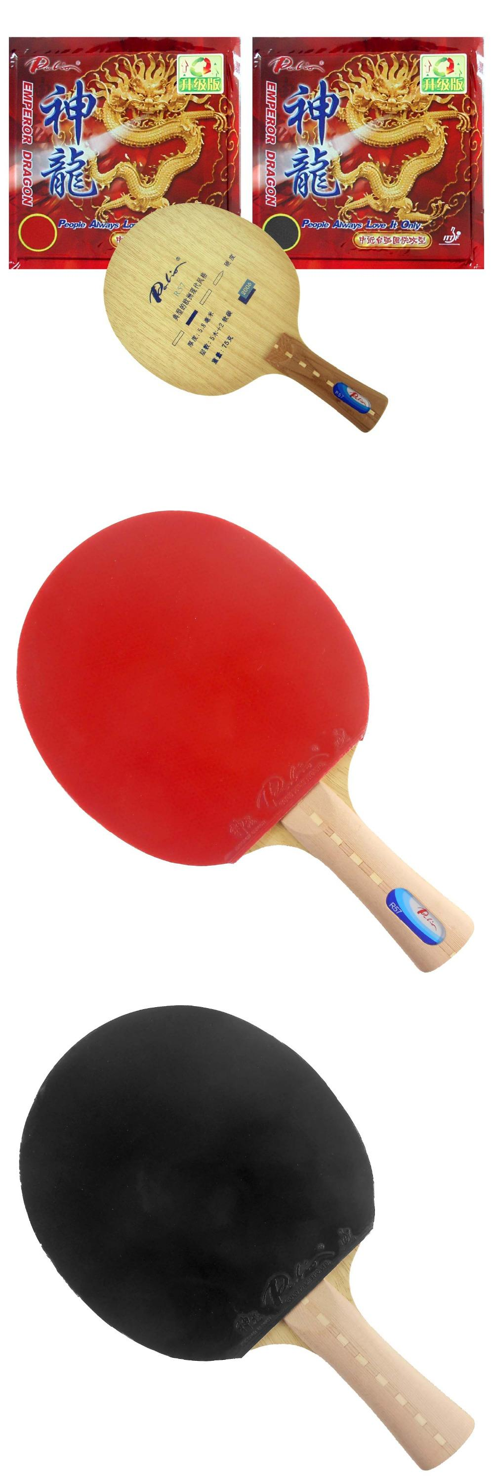 Visit To Buy Palio R57 Long Shakehand Fl With 2 Pieces Emperor Dragon 2015 Factory Direct Selling Gen Direct Selling Racquet Sports Scraper Spatula