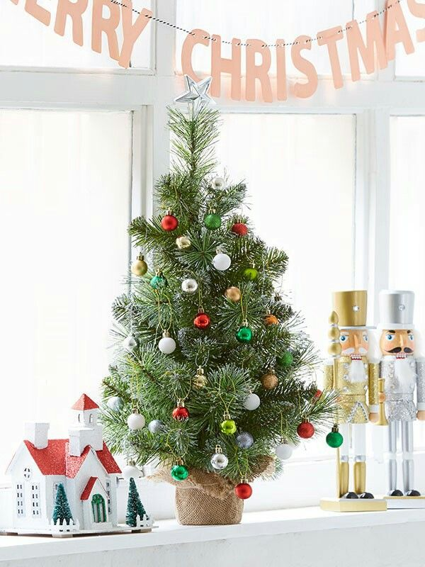 Christmas for the window sill. Kmart Australia styling | Christmas ...