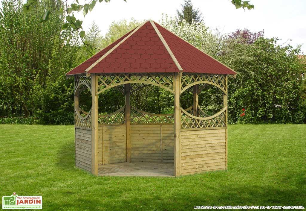 Kiosque Bois Bubanii Kiosque Jardin Jardins Kiosque