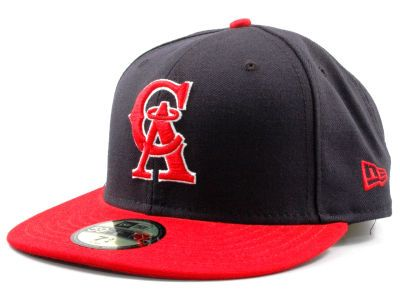 cd527493bac Los Angeles Angels of Anaheim New Era 59Fifty MLB Cooperstown Hats at  lids.com