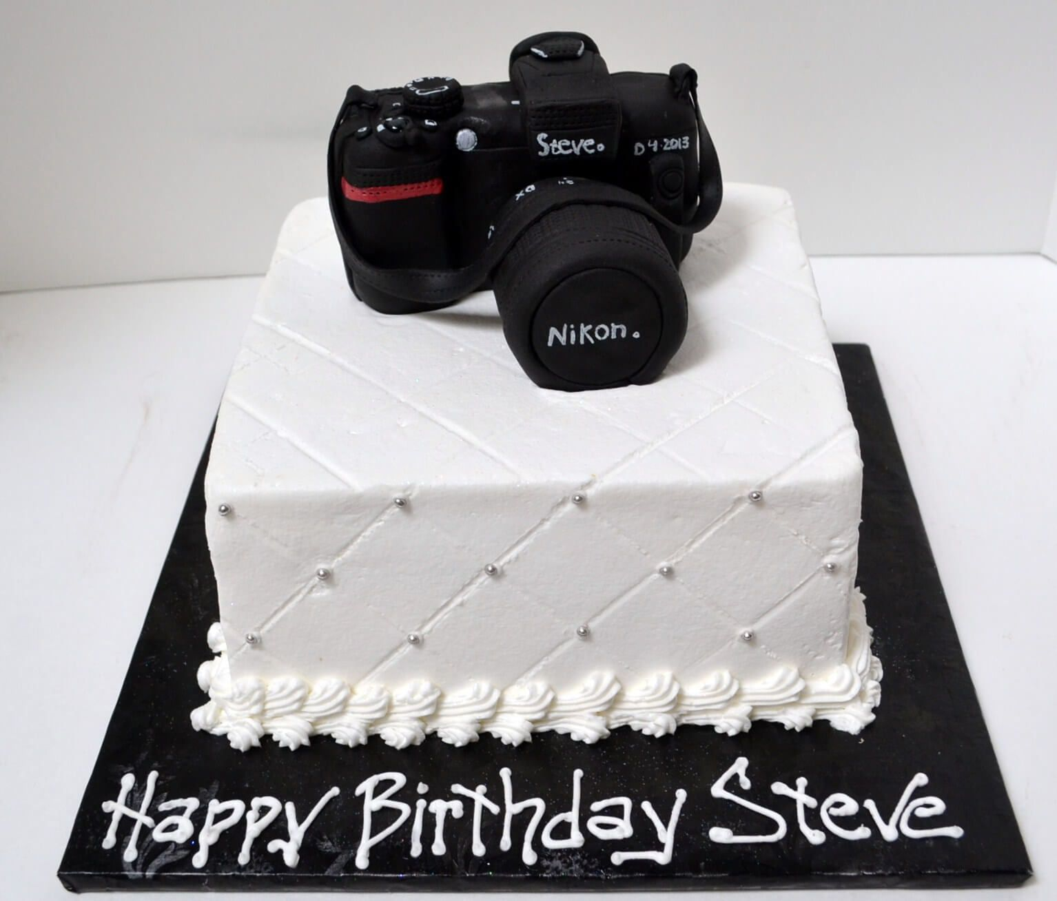 Pleasant 526 Camera Cake With Images Camera Cakes Happy Birthday Steve Funny Birthday Cards Online Barepcheapnameinfo