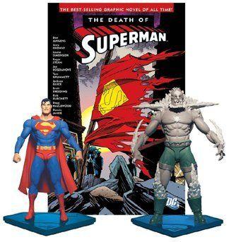 Superman Dc Direct Collector S Set Superman Vs Doomsday Http