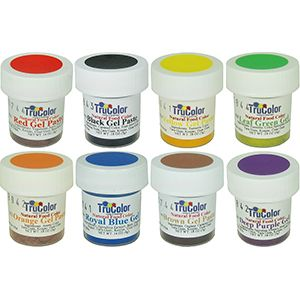 TruColor Natural Gel Paste Primary Color Set. This is a great way to ...