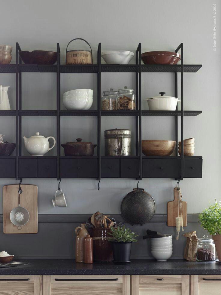 Lush Interiors Kuchen Wandregal Ikea Regal Kuche Ikea Ideen