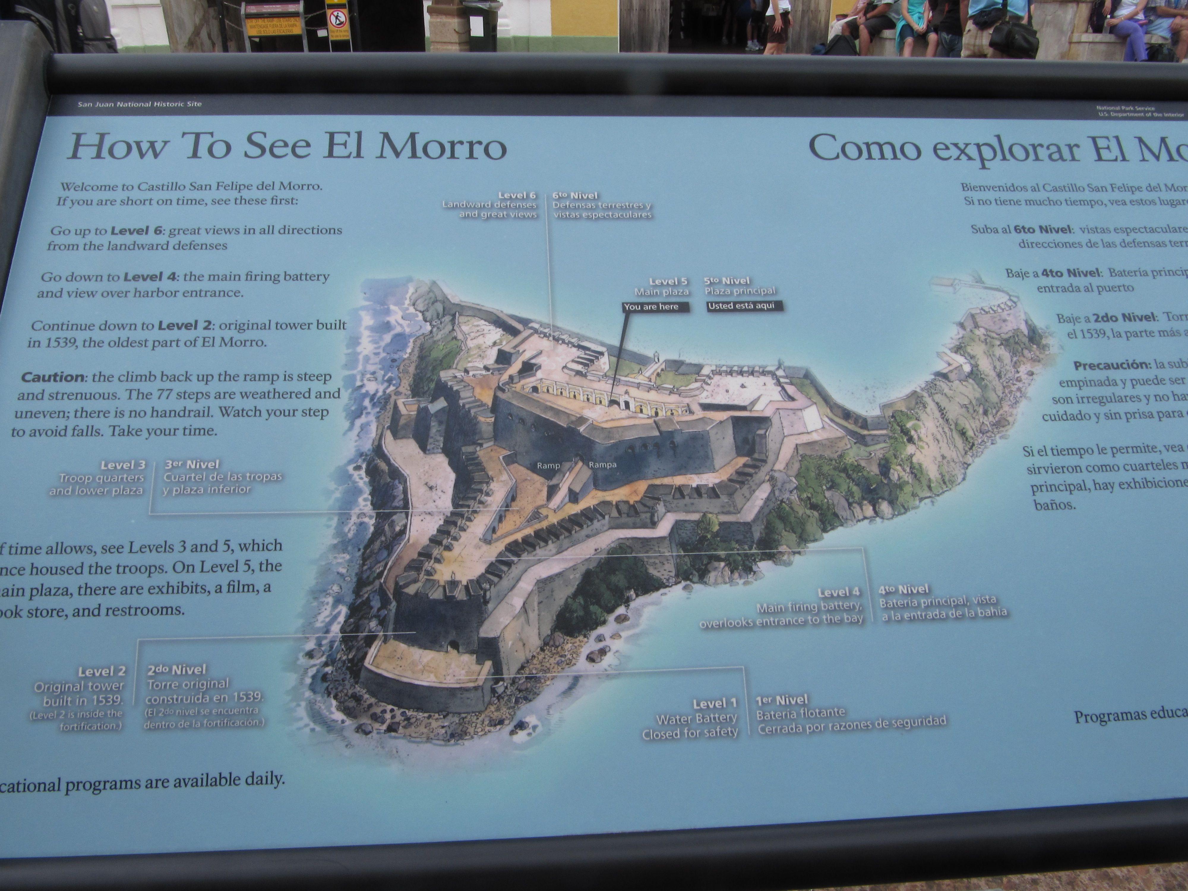 El Morro Fort San Juan Puerto