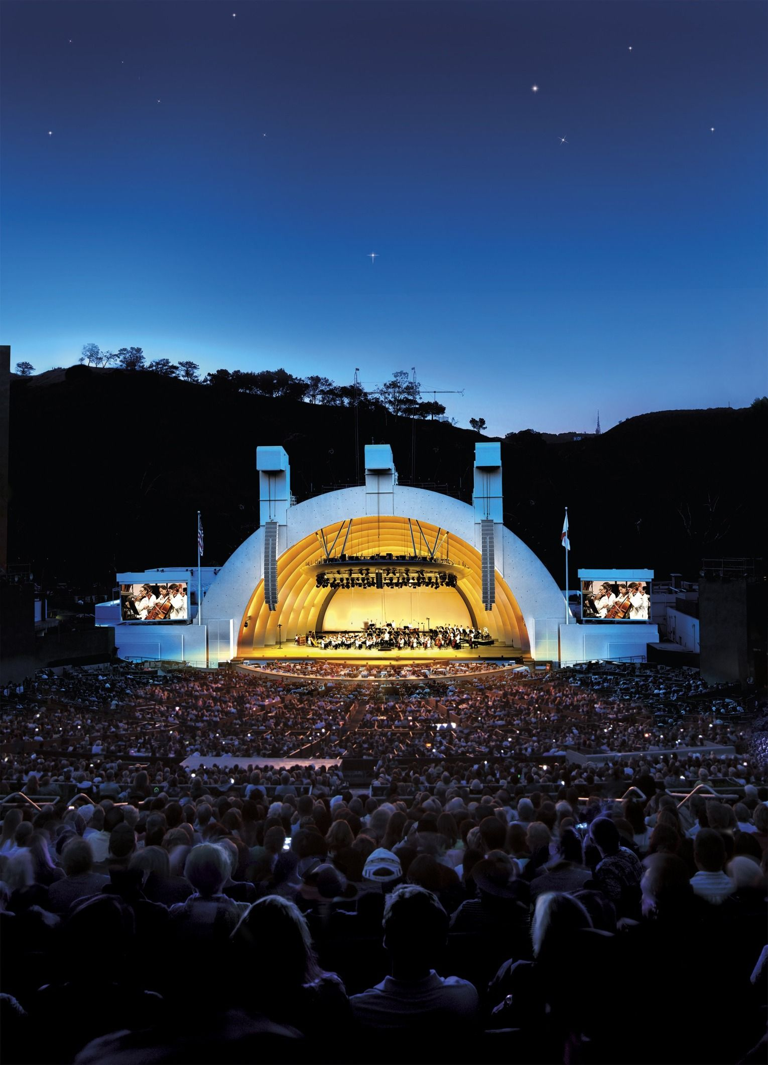 Hollywood Bowl Concerts >> Best Outdoor Music Venues For Summer Concerts Dream Travel