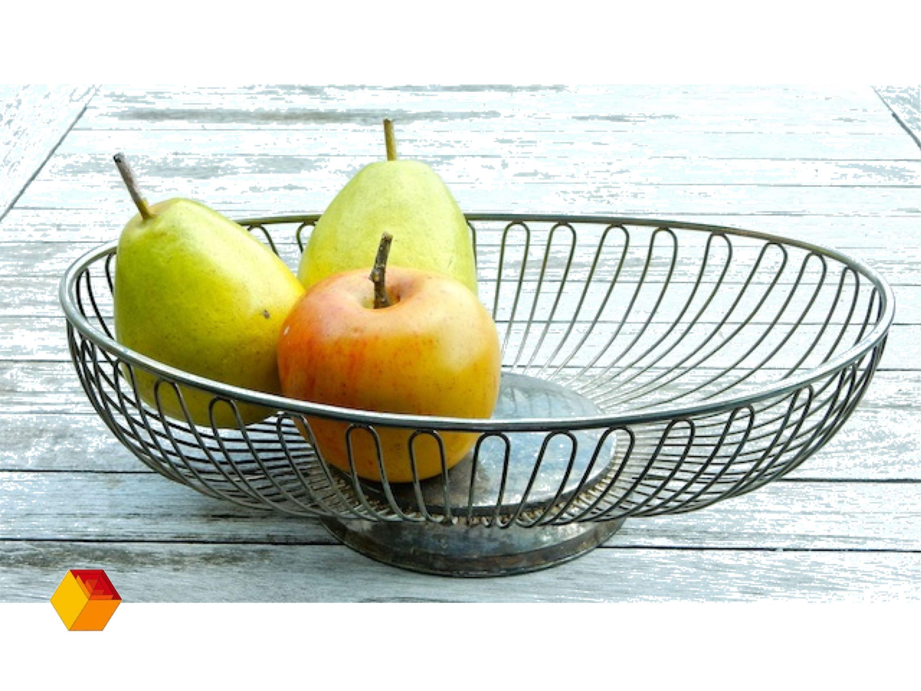 Vintage Alessi Draadmandje Met Patine Sixties Fruit Bowl Products Autentico