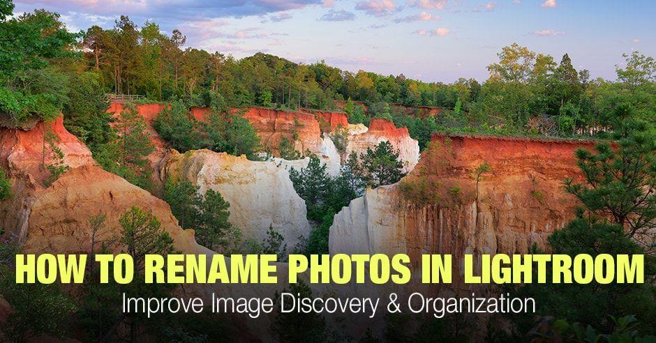 Lightroom rename catalog