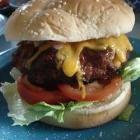 Pimento Beer Cheese Burger @ mantestedrecipes.com