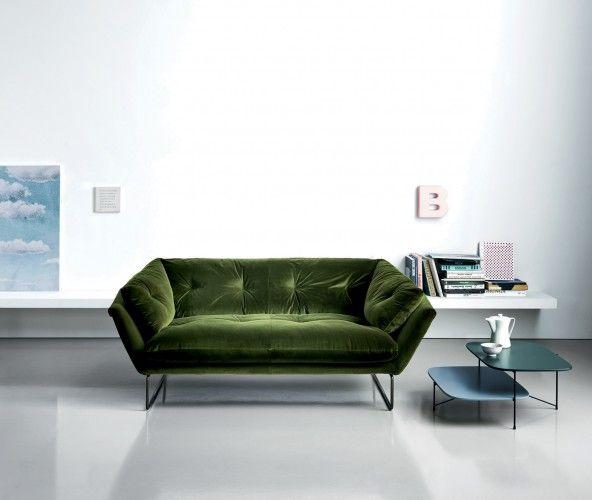 NEW YORK SUITE | Sofá 3 Plazas By Saba Italia Diseño Sergio Bicego. Green  SofaSofa ...