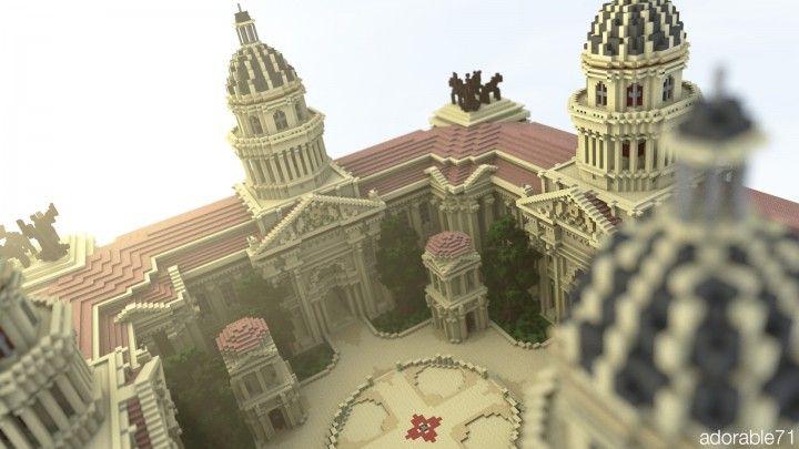 The Minecraft Roman Faction Spawn