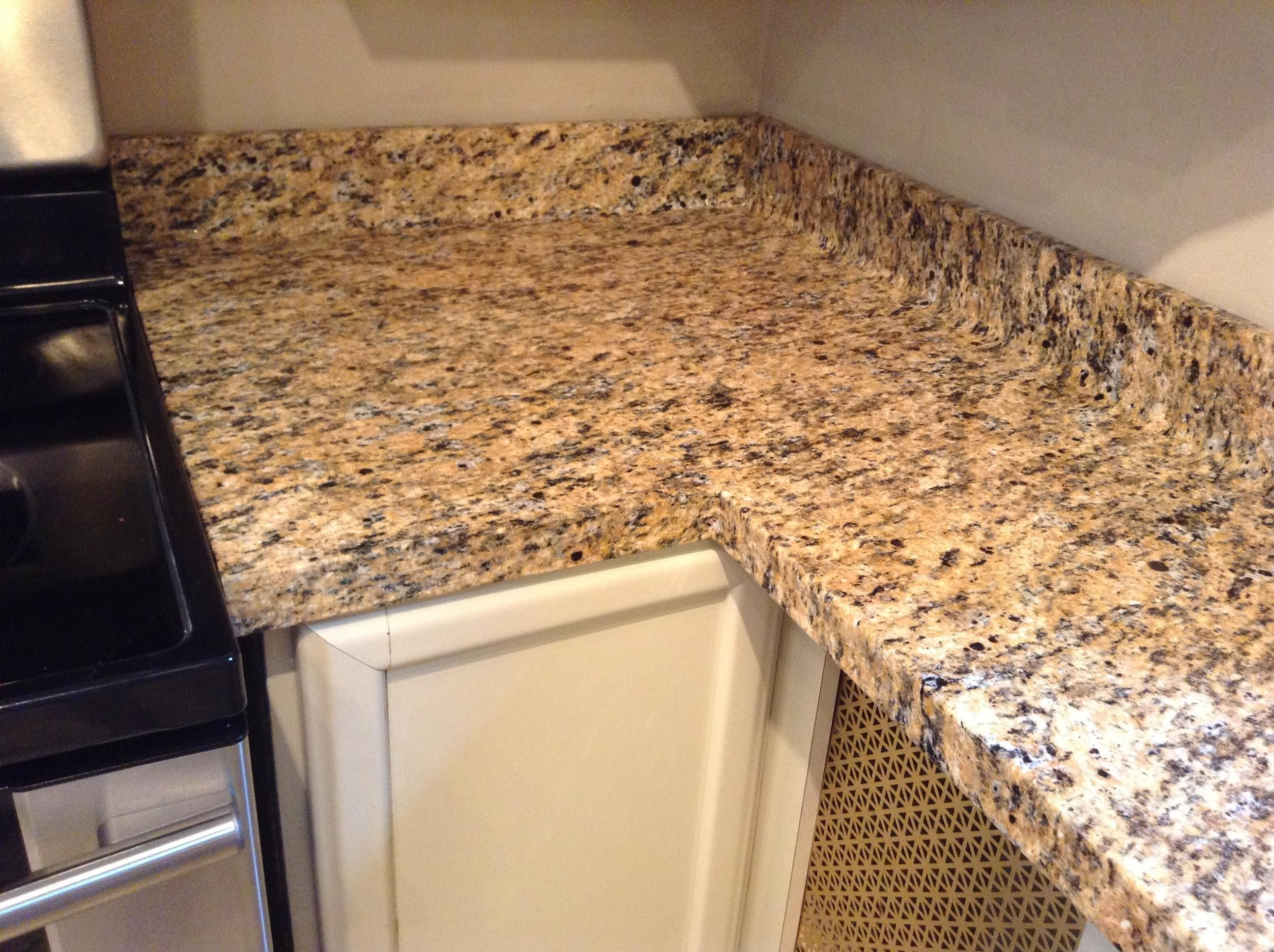 Faux granite film kitchen corner after granite countertops colors granite kitchen kitchen countertops