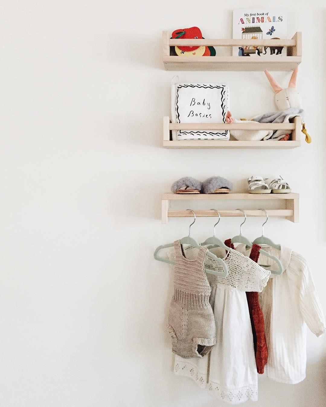 Ikea Gewürzregal Bekväm Im Kinderzimmer Für Bücher Und Als
