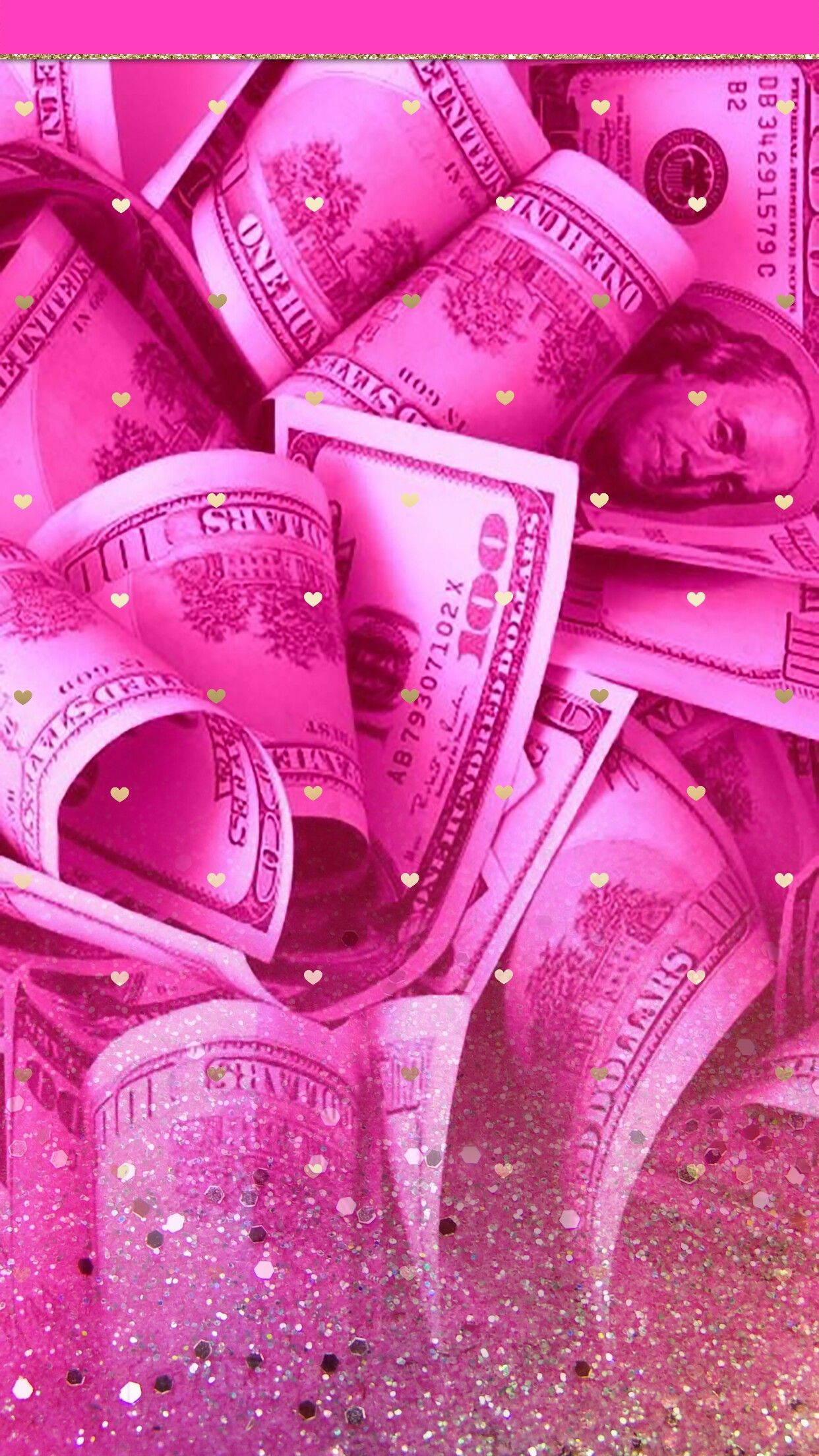 Pin By Lauryn On Wallpapers Vol 34 Pink Wallpaper Iphone Money Wallpaper Iphone Pink Aesthetic