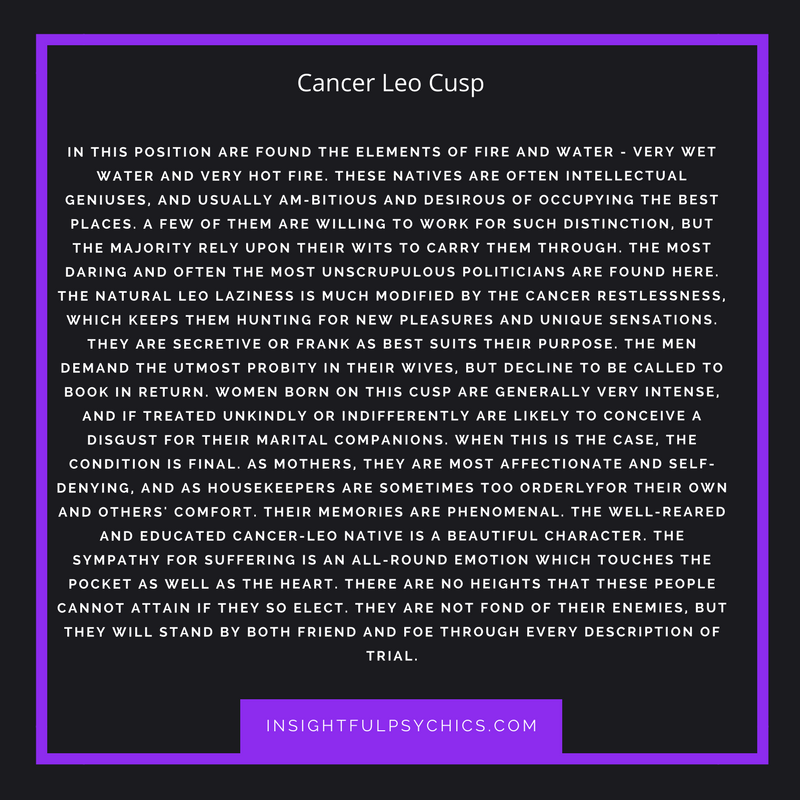 Cancer leo cusp woman compatibility with scorpio man