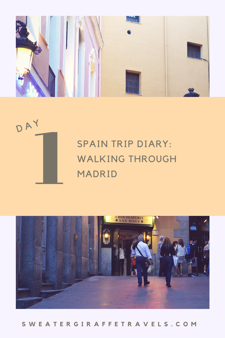 spain trip diary day 1 madrid madrid travel travelblog spain