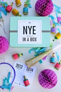 New Years Eve In A Box New Years Eve Decorations Party In A Box Newyear