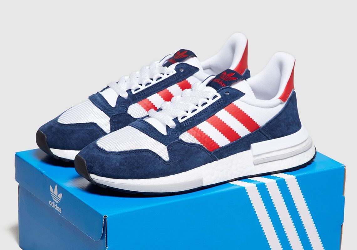 adidas ZX 500 RM Navy Red  thatdope  sneakers  luxury  dope  fashion   trending 2904390e7