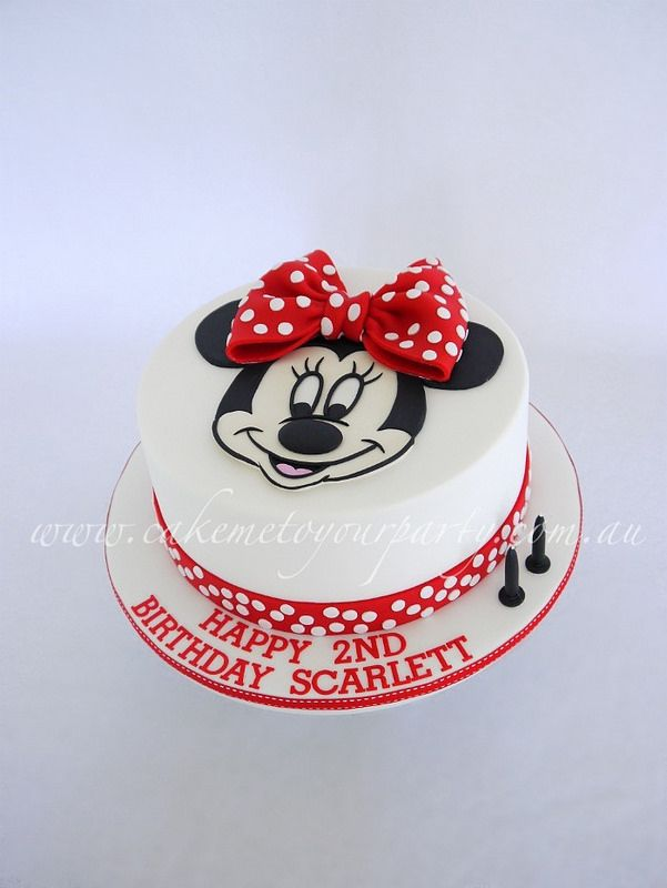 Minnie Mouse Cake Mouse cake Minnie mouse and Mice