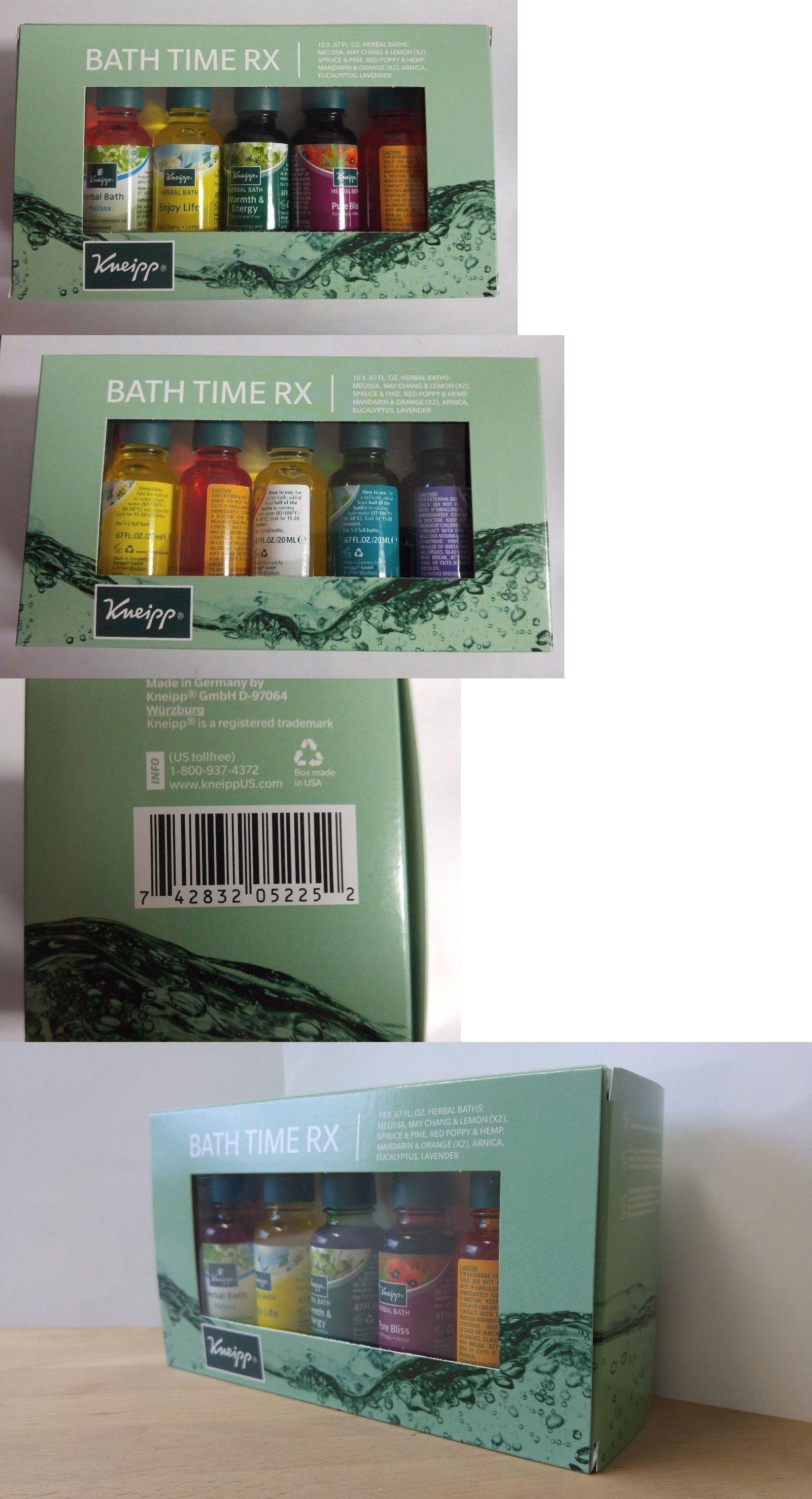 Bath Oils Kneipp Bath Time Rx Herbal Bath Set 10 Bottles Buy It Now Only 38 99 On Ebay Herbal Bath Bath Sets Bath Oils