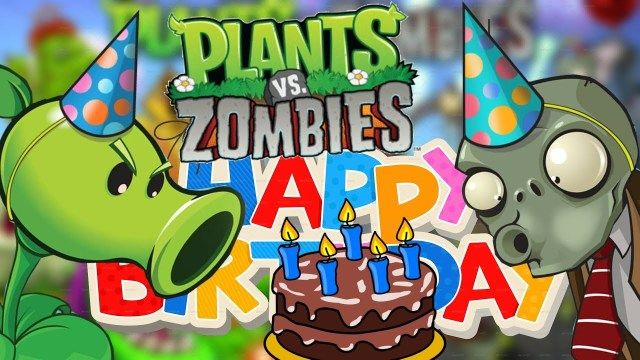 34 Exclusive Picture Of Plants Vs Zombies Birthday Cake
