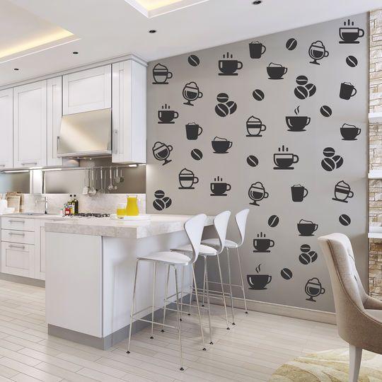 Vinil para pared de la cocina viniles decor home - Papel de vinilo para cocinas ...