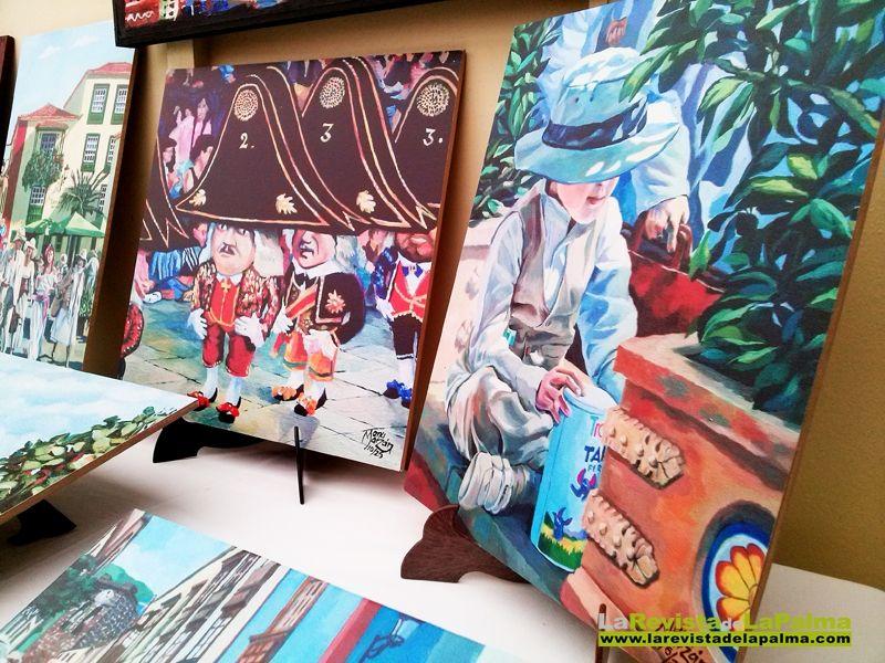 Feria de arte LIBER-ARTE en Breña Baja- La Palma feria-liber-arte-manu-marzan-enanos-y-nino-indiano-nueva.jpg