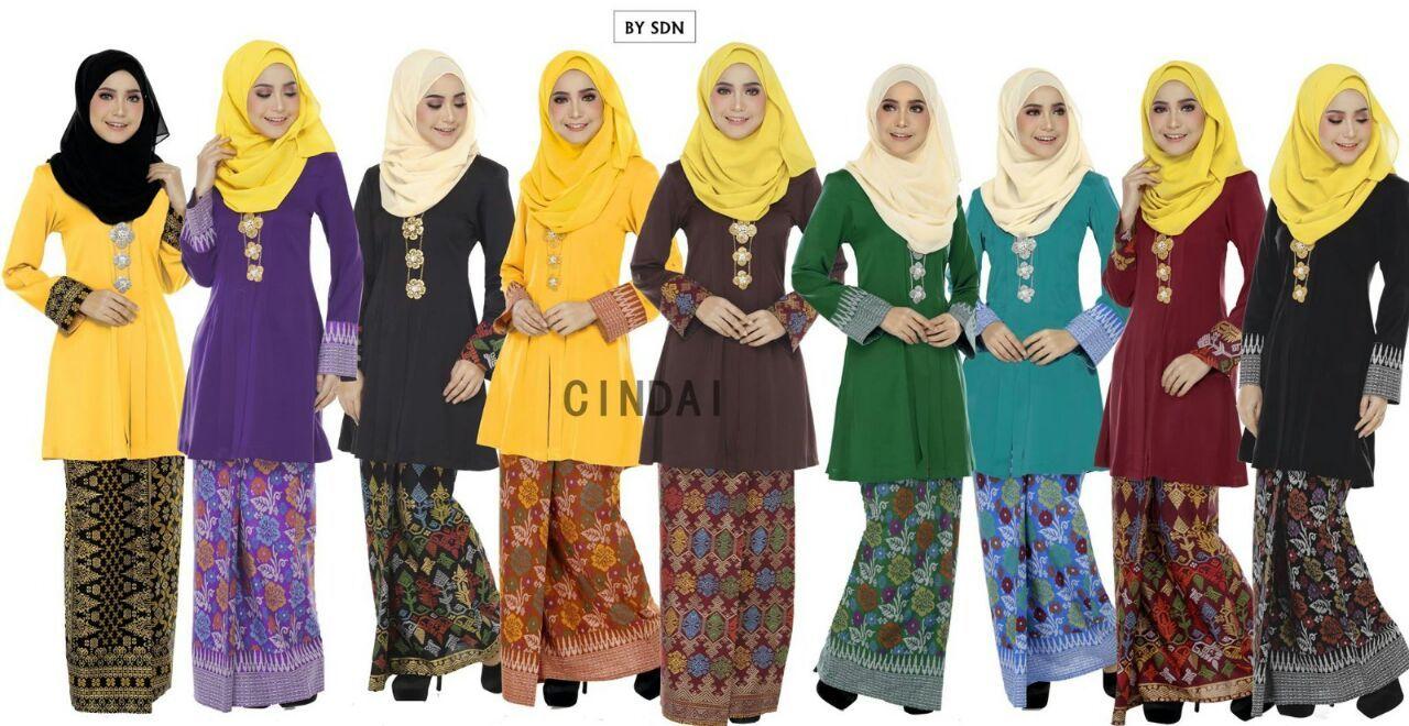 Pelbagai Jenis Baju Kurung Dari Kain Batik Sarawak Ce And