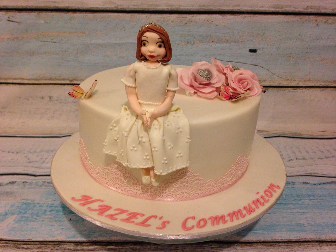 First communion for a girl erstkommunion kommunion