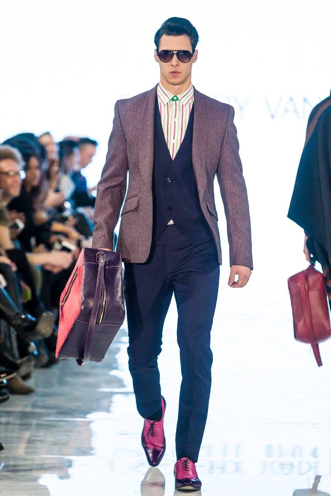 f7a9efddebe Caffery van Horne Fall Winter Otoño Invierno 2016 - Toronto Men s Fashion  Week -  Menswear 3Trends  Tendencias  Moda Hombre - MFT