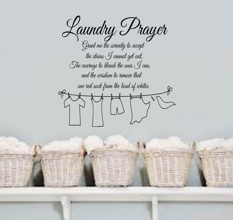 Laundry Prayer Grant me the SERENITY Home