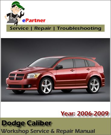 2009 dodge caliber service manual