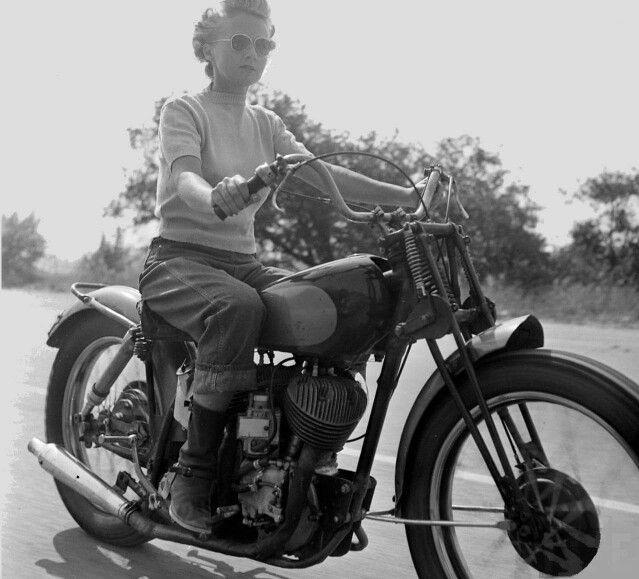 Biker girl